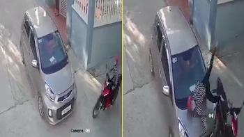 Qua điểm giao cắt không giảm tốc độ, tài xế xe máy gặp nạn