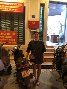 Hà Nội: Người phụ nữ bất ngờ tìm lại được xe máy sau 2 năm bị mất