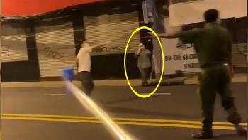 Đuổi bắt người đàn ông F0, trốn khu cách ly về nhà
