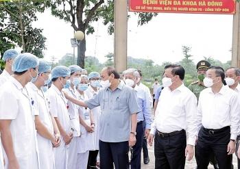 Chủ tịch nước: Không để quá tải bệnh viện, không để bệnh nặng tăng nhanh