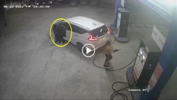 Tài xế ô tô che biển số, đổ xăng rồi 'bùng' tiền bỏ chạy