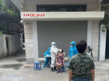 Hà Nội: Thêm một gia đình 4 người mắc Covid-19 tại quận Thanh Xuân