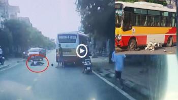 Một học sinh tử vong thương tâm sau va chạm với xe buýt