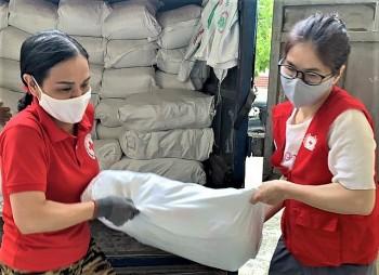 Cần Thơ tiếp nhận trên 3.615 tấn gạo hỗ trợ dân gặp khó khăn do dịch bệnh