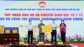T&T Group trao tặng 1 triệu bộ kít xét nghiệp PCR COVID-19 trị giá 162 tỷ đồng hỗ trợ TP Hà Nội chống dịch
