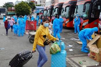 Hàng nghìn người dân được đưa về Lâm Đồng, Quảng Bình an toàn