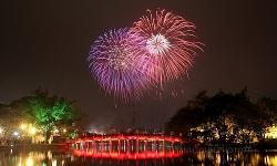 Hà Nội: Bắn pháo hoa tại tất cả các quận, huyện, thị xã trong đêm giao thừa