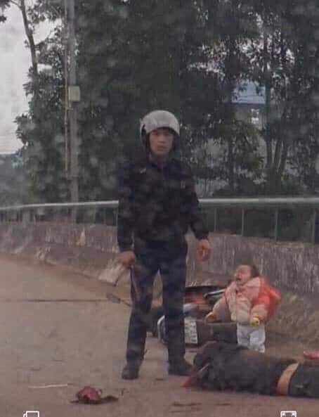 thai nguyen truy tim doi tuong chem nguoi phu nu nguy kich tren cau cung