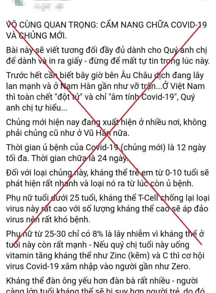 phat 125 trieu dong nguoi phu nu ban hang online tung tin that thiet ve benh nhan so 17 nhiem covid 19