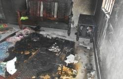 Bắt người đàn ông phóng hỏa đốt nhà trọ giữa đêm khiến 2 mẹ con bỏng nặng