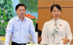 bo truong gtvt nguyen van the xin thoi lam thanh vien uy ban tai chinh ngan sach