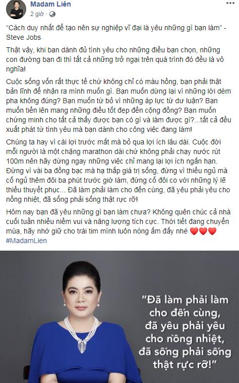 madam lien dang facebook cho sua tren duong shark lien bi dan mang nem da