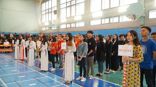 """Hơn 60 du học sinh tại Nga tranh tài trong cuộc thi """"Đường đến nước Nga"""""""