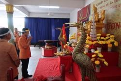 Kiều bào Thái Lan dâng hương giỗ tổ Hùng Vương