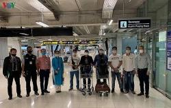 7 công dân Việt Nam bị kẹt tại Bangkok (Thái Lan) đã được đưa về nước