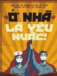 Báo Đức ấn tượng với tranh cổ động chống COVID-19 tại Việt Nam