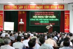tren 300 can bo cong chuc tinh thai binh duoc tap huan cong tac doi ngoai nhan dan