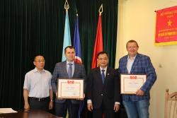 Ghi nhận những đóng góp cho hợp tác hai nước của Hội hữu nghị Ucraina - Việt Nam tỉnh Lviv