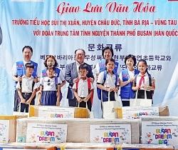 Hơn 400 học sinh Việt - Hàn giao lưu văn hoá tại Bà Rịa - Vũng Tàu