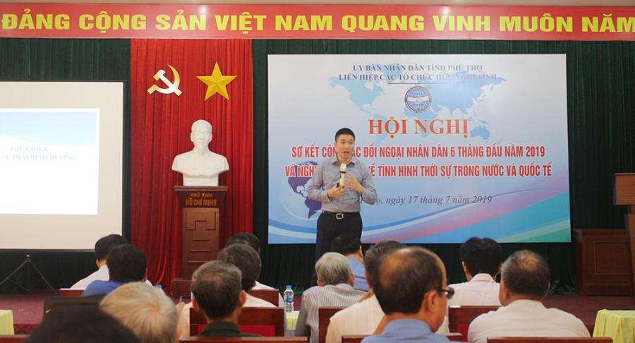 phu tho thu hut hon 1 trieu usd vien tro phi chinh phu trong 6 thang dau nam