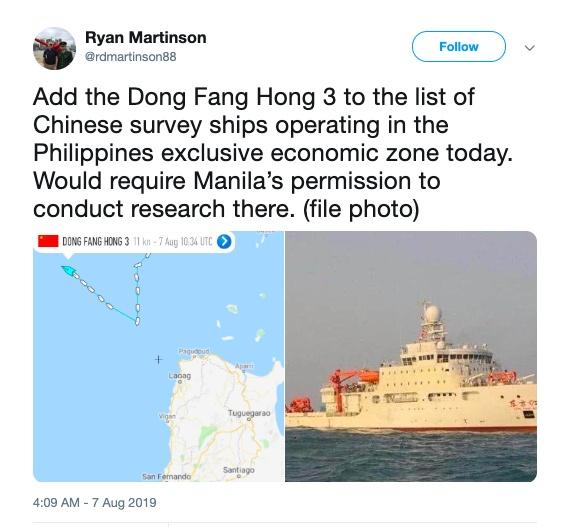 philippines phan doi tau trung quoc hien dien o vung dac quyen kinh te