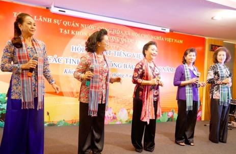cuoc thi hat tieng viet dau tien danh cho kieu bao tai dong bac thai lan