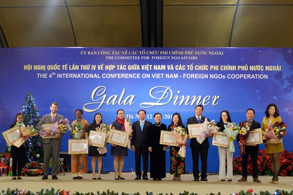 vinh danh 29 to chuc phi chinh phu co dong gop tich cuc cho viet nam giai doan 2014 2018