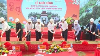 Điện Biên: Khởi công xây dựng đền thờ các anh hùng liệt sỹ chiến trường Điện Biên Phủ