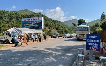 Nậm Pồ (Điện Biên): Huyện nghèo biên giới gồng mình chống dịch Covid-19