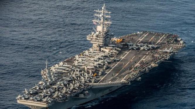 Mỹ điều hai tàu sân bay đến tập trận ở Biển Đông