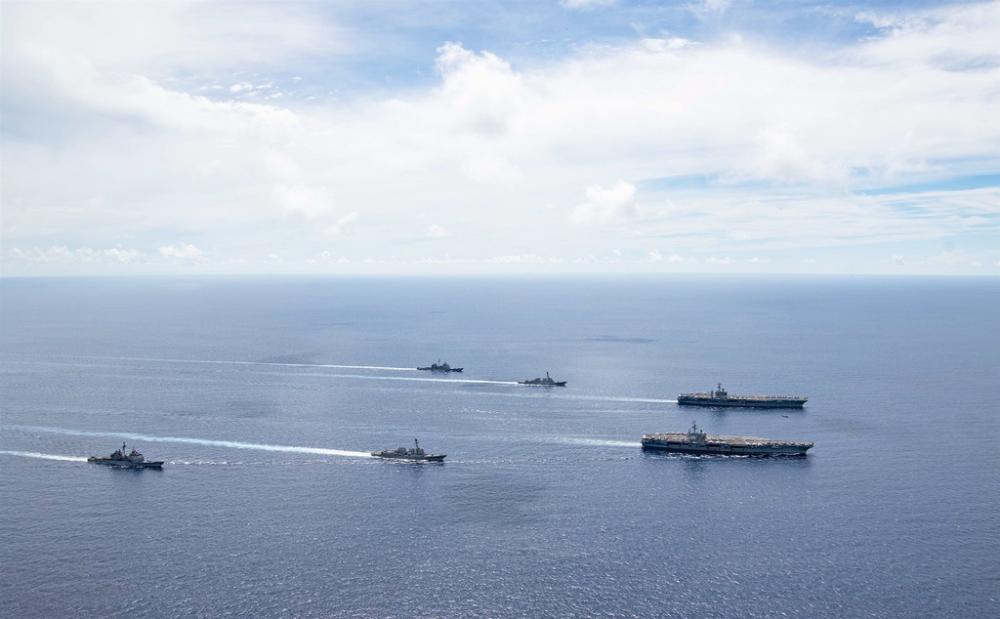 Mỹ ra tuyên bố bác bỏ các yêu sách của Trung Quốc ở Biển Đông