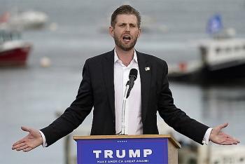 Con trai thứ của Trump cảnh cáo những nghị sĩ Cộng hòa không ủng hộ cha mình