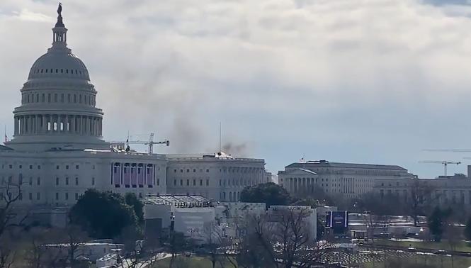 Điện Capitol bất ngờ bị phong tỏa trước lễ nhậm chức của ông Biden