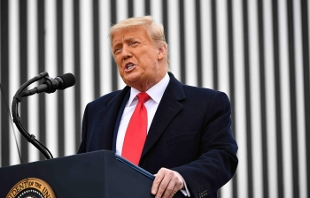 Ông Trump lần đầu tiên gửi lời chúc mừng tới chính quyền kế nhiệm