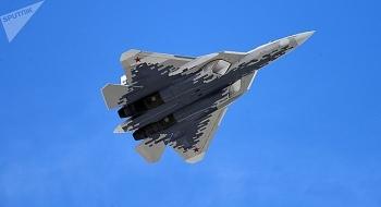 """Nga lần đầu công bố hình ảnh về """"bóng ma bầu trời"""" Su-57 đầu tiên được sản xuất hàng loạt"""