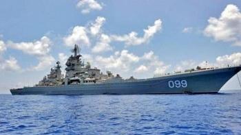 Được trang bị tới 480 tên lửa, tàu tuần dương Đô đốc Nakhimov Nga trở thành nỗi khiếp đảm của đối phương