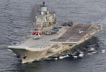 Rúng động vụ án tham nhũng trên tàu sân bay của Hải quân Nga