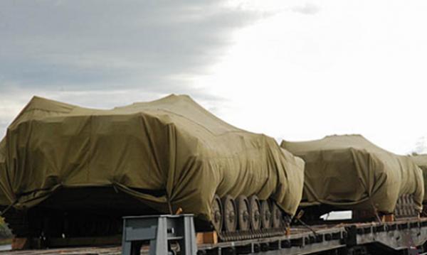 Nga đã điều động nhiều thiết bị quân sự vào Donbass?