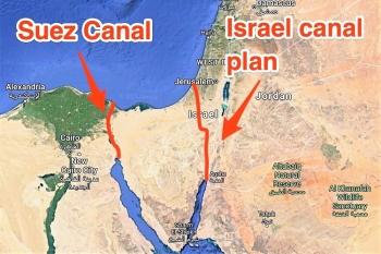 Mỹ từng cân nhắc dùng hơn 500  quả bom hạt nhân để tạo tuyến đường thay thế kênh đào Suez