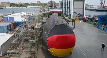 Tàu ngầm Hải quân Đức được trang bị thiết bị định vị của Nga