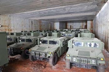 Mỹ tức tốc điều hàng loạt xe bọc thép tham chiến ở Donbass