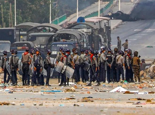 Myanmar lại có thêm người biểu tình thiệt mạng