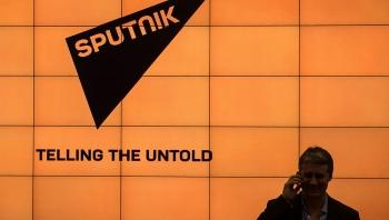 Sputnik của Nga ngừng hoạt động tại Anh, chuyển bộ phận tiếng Anh sang Moskva và Washington