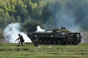 Ukraine tuyên bố tập trận chung với NATO bất chấp có thể gây căng thẳng thêm với Nga