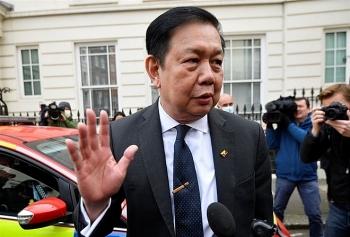 London cho phép Đại sứ Myanmar tiếp tục ở lại Anh sau khi bị chính quyền quân sự sa thải
