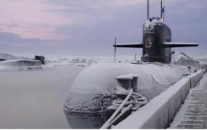 Vị khách bất ngờ suýt làm hỏng cuộc thao diễn của Hải quân Nga