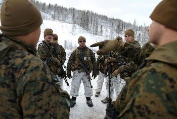 Quân đội Mỹ lại hiện diện sát lãnh thổ Nga