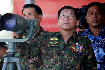 Hàng loạt quan chức quân đội Myanmar tiếp tục bị trừng phạt