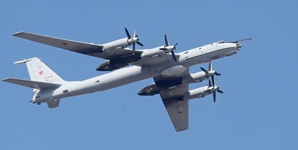 """Không quân Nga - Mỹ lại """"chạm trán"""" trên Thái Bình Dương"""