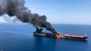 Một tàu chở dầu ngoài khơi nghi của Iran bị tấn công bằng UAV ngoài khơi Lebanon